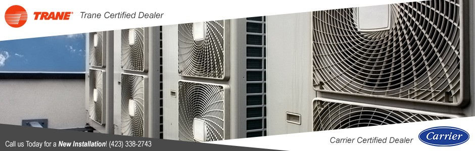 Carrier Certified Dealer // Trane Certified Dealer - call us today for a new installation!